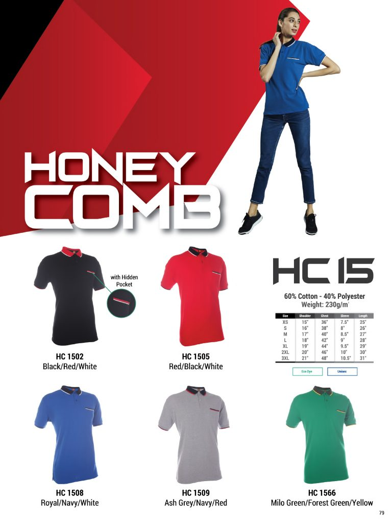 HC 15 -- Honeycomb Collar T-Shirts